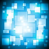 Blue colourful vector background