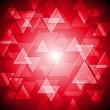 Red colourful vector background