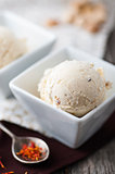 Saffron ice cream
