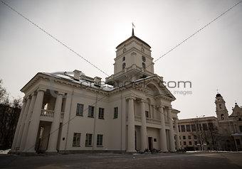 Old city hall Old city hall building in Minsk, Belarus building