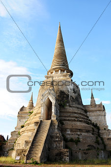 Ancient wat in Thailand