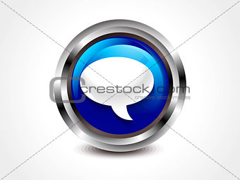 abstract gloossy call out button