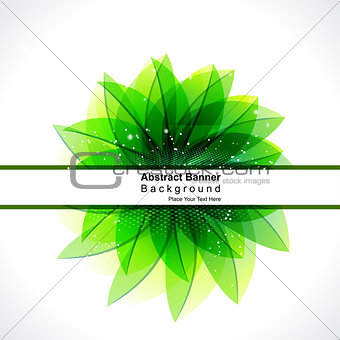 abstract glossy green leaf background