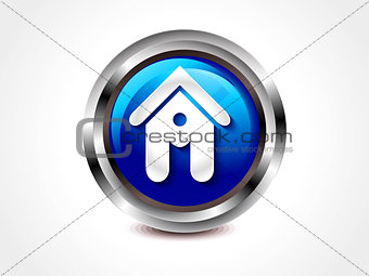 abstract glossy home button