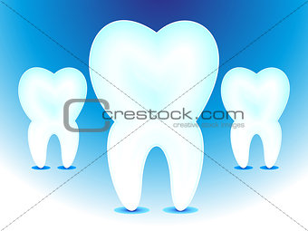 abstract teeth icon