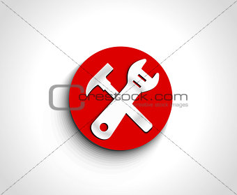 abstract tools icon
