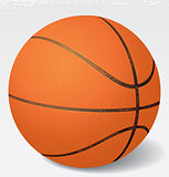Realistic vector Basketball  illustration. eps 8