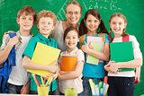 Teacher and learners
