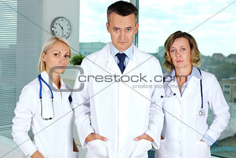Tired doctors