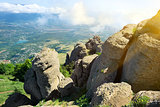 Valley of ghosts in Crimea