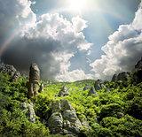 Valley of ghosts in Ukraine