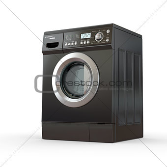 Closed washing machine