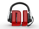 Text DJ and handphones