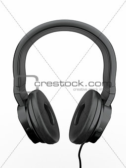 Three-dimensional headphones. 3d
