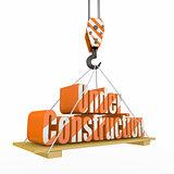Under Construction. 3d