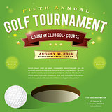 Golf Tournament Invitation Design