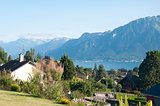 Houses with a view of Lake Geneva