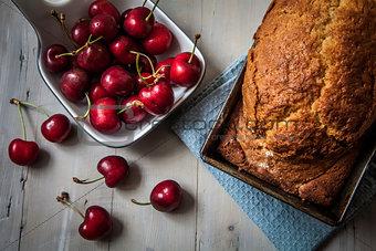 Cake on pan