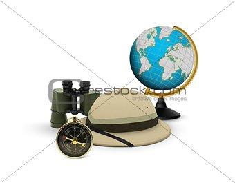 Global exploration concept
