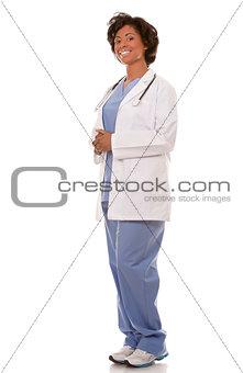 black medical doctor