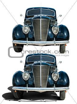Old vintage retro car