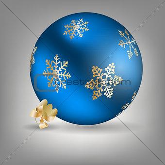 Christmas ball icon vector illustration