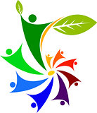 peoples leaf logo