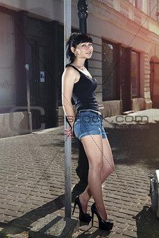 beautiful hitchhiker