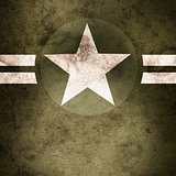 Military army star background