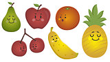 Happy Fruits Set