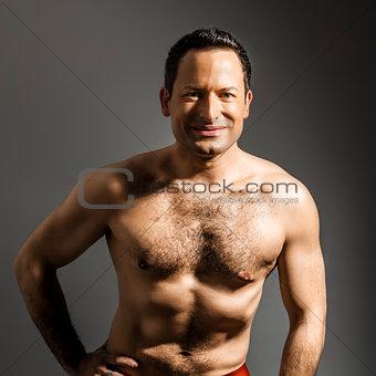 man hairy