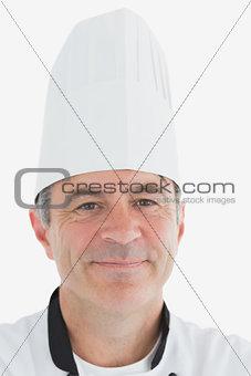 Portrait of happy male chef