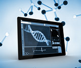 DNA on a digital tablet