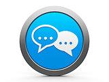Icon internet conversation
