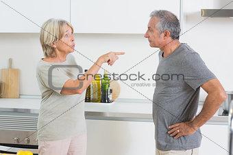Couples dispute