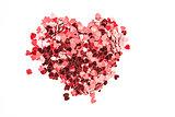Valentines confetti
