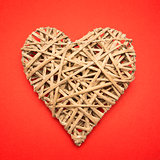 Wicker heart