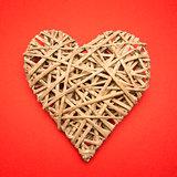 Wicker heart