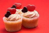 Tasty valentines cupcakes