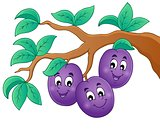 Image with plum theme 1