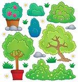 Plants and bush theme collection 1