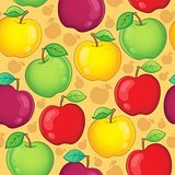 Seamless background fruit theme 1