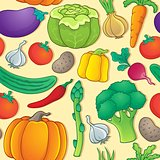 Seamless background vegetable 1