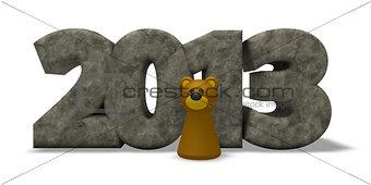 bear year 2013