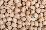 Abstract background of chick peas