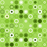 Green Circle Decoration