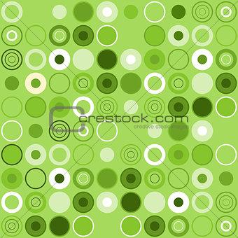 Green Circle Decoration