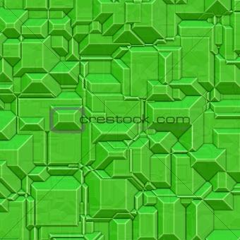 Blocky green background