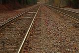 Railroad Tracks - Close-up