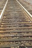 Railroad Tracks - Close-up